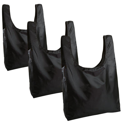 Packable Reusable Grocery Totes (Set of 3) -  - Fit & Fresh