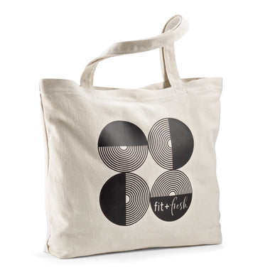 Santulan Circles Everyday Tote Bag -  - Fit & Fresh