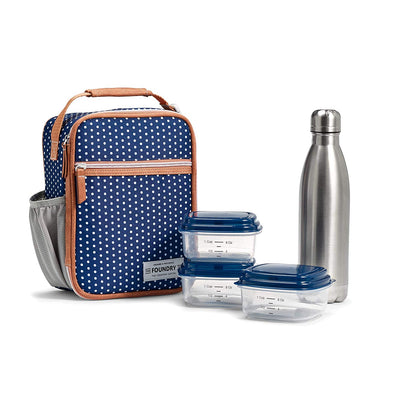 Thayer Insulated Lunch Bag Set -  - Fit & Fresh