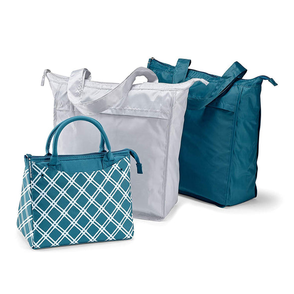 Rachael Ray Lunch Bag & Market Tote Combo Set -  - Fit & Fresh