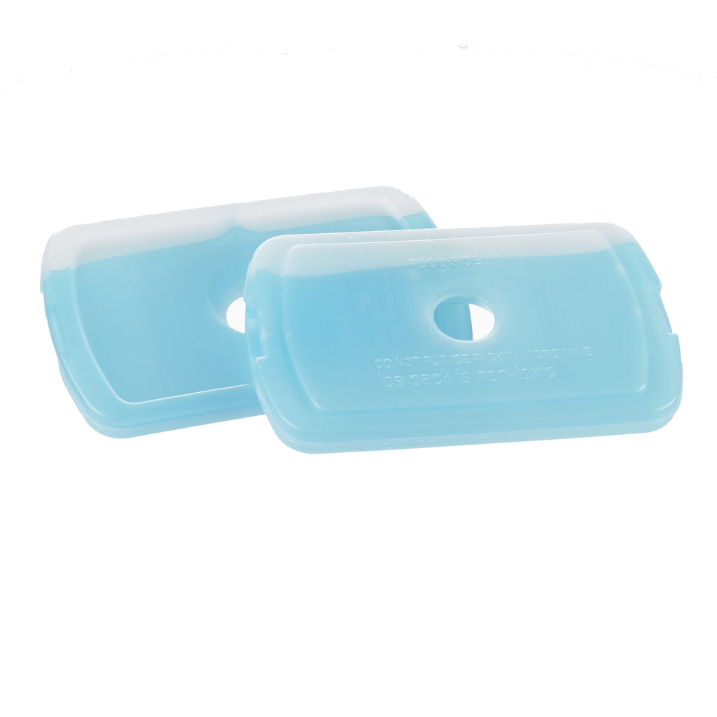 Lunch on the Go and Kids' 1 Cup Replacement Ice - Rectangle Version (2 Pack)