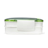 Stackable Bento Container with Spork -  - Fit & Fresh