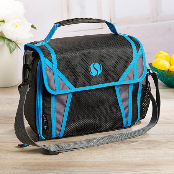Sport Messenger Insulated Lunch Bag - Mens' Bag - Fit & Fresh