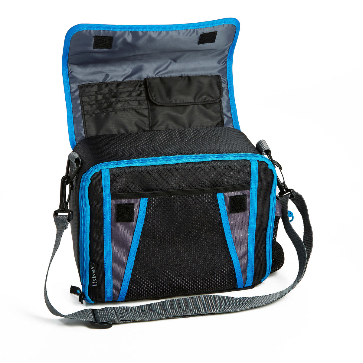 Fit Amp Fresh Sport Messenger Insulated Lunch Bag Mens