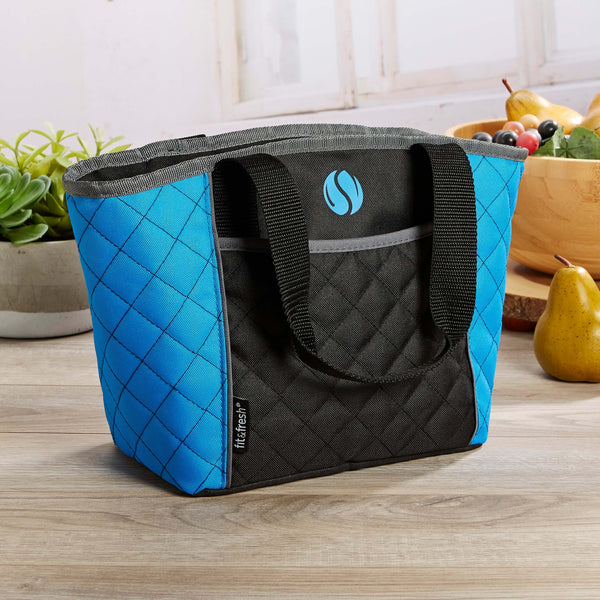 Quilted Insulated Sport Cooler Lunch Bag - Mens' Bag - Fit & Fresh
