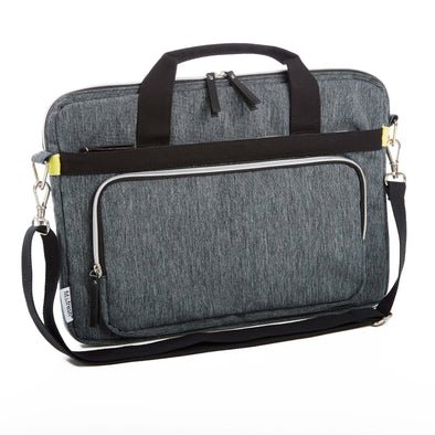 Deluxe Padded Laptop Messenger Bag (Space Dyed) - Laptops - Fit & Fresh
