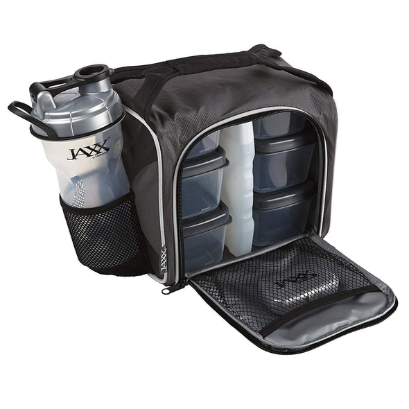 Gray Jaxx FitPak Meal Prep Bag -  - Fit & Fresh