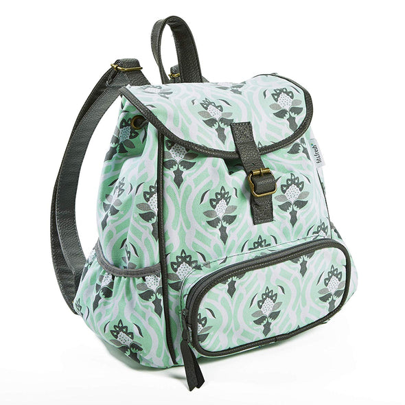 Mint Garden Tile Mini Backpack - Ladies' Bag - Fit & Fresh