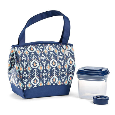 Hyannis Insulated Lunch Bag Kit with Salad Container -  - Fit & Fresh