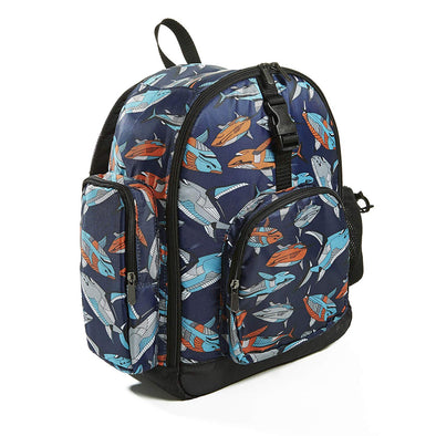 Shark Bite Kid's School Backpack - Kids' Bag - Fit & Fresh