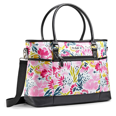 Blithewold Blooms Travel Tote Bag/Carry On -  - Fit & Fresh