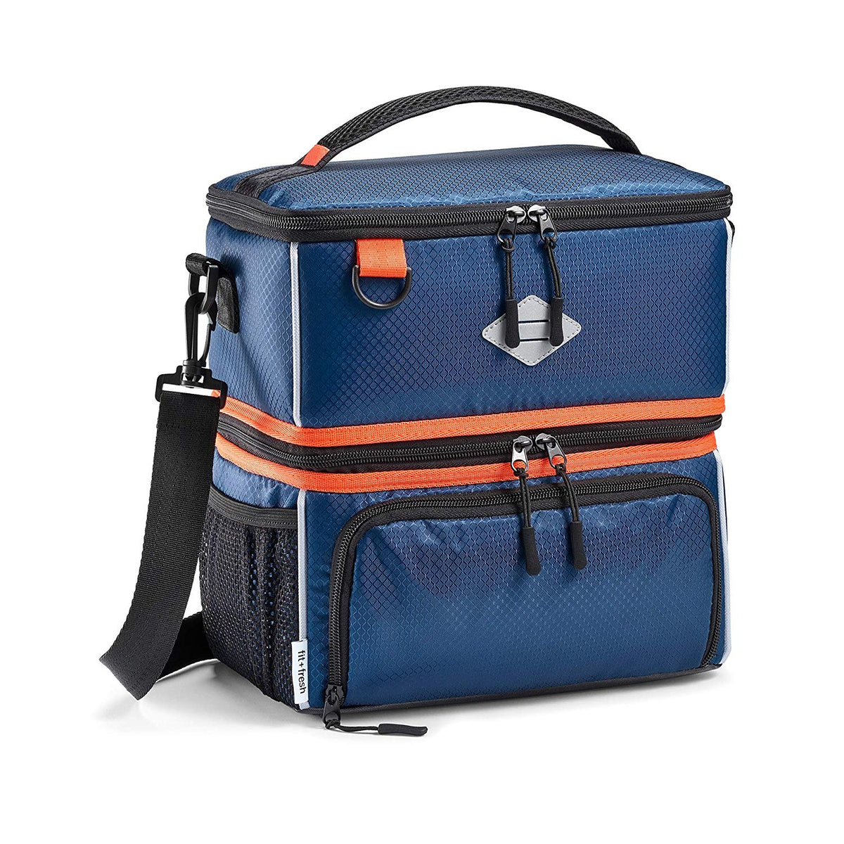 Dual Compartment Sport Cooler Insulated Lunch Bag Fit