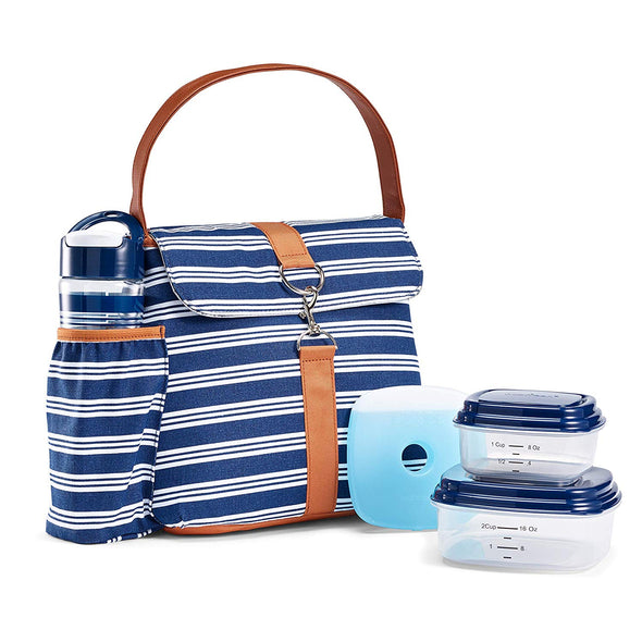 Fayetteville Insulated Lunch Bag Set -  - Fit & Fresh
