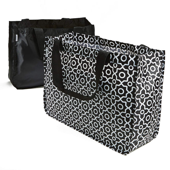 Extra Large Reusable Grocery Totes (set of 2) - Grocery Bags - Fit & Fresh