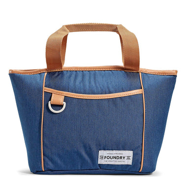 Denim Blue Kinsley Insulated Lunch Bag