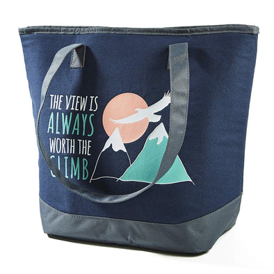 The Climb Collegiate Tote Bag -  - Fit & Fresh