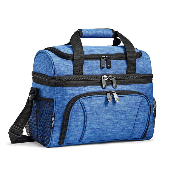 Dual Compartment Insulated Cooler Bag -  - Fit & Fresh