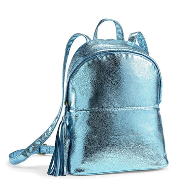 Teal Shiny Lunch Backpack -  - Fit & Fresh