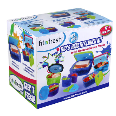 Kids' 17 Piece Kids' Value Chilled Container Set - Plastic Container - Fit & Fresh