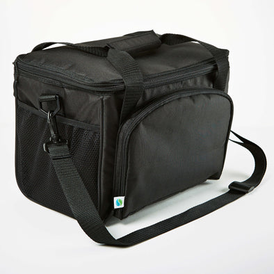 Medium Insulated Cooler Bag (Black) - Cooler - Fit & Fresh