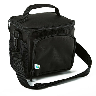 Small Insulated Cooler Bag (Black) - Cooler - Fit & Fresh