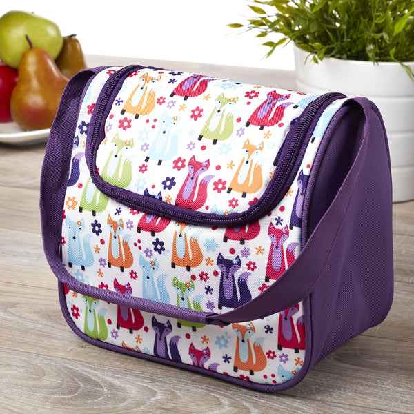 fit fresh morgan kids 39 insulated lunch bag school lunch box. Black Bedroom Furniture Sets. Home Design Ideas