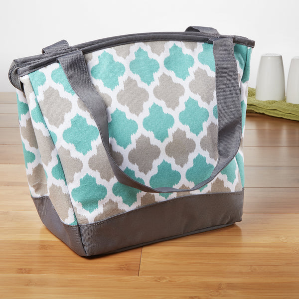 Fit Amp Fresh Hyannis Insulated Lunch Box Stylish Tote Bag