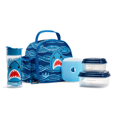 Shark Patch Insulated Lunch Bag Kit -  - Fit & Fresh
