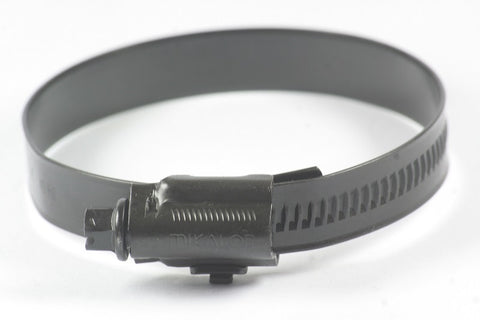 Black Stainless Steel Hose Clips