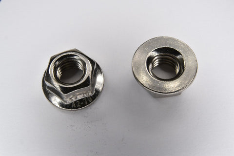 Stainless Steel Non Serrated Flange Nuts