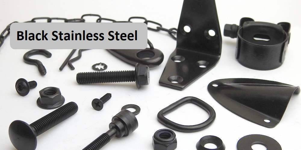 Black Stainless Steel Bolts Nuts And Washers