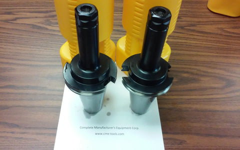 "CAT50-ER20 COLLET CHUCK 6"" gage length X-long 2 CHUCKS NEW Tool Holder Set"