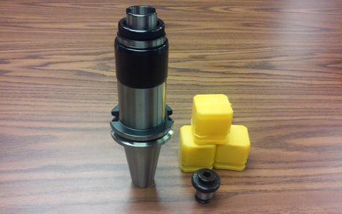 CAT40 tapping head,tapping collet chuck w. any 3 positive drive P-type adapters