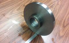 "8"" Semi-finished threaded back plate for 8"" lathe chuck ADP-8-214SM"