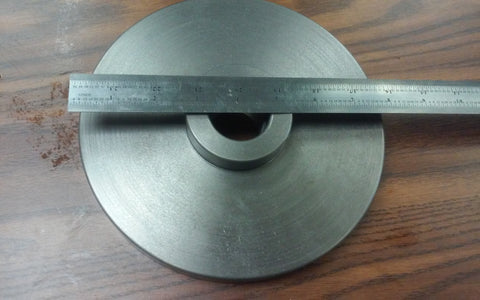 "1-1/2""-8 Semi-Finished adapter Plate for 8"" LATHE CHUCKS #ADP-08-1128SM- NEW"