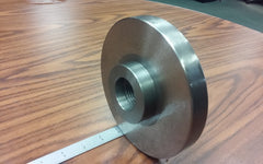 "1-1/2""-8 Semi-Finished adapter Plate for 6"" LATHE CHUCKS #ADP-06-1128SM- NEW"
