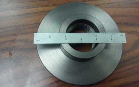 "2-1/4""-8 Semi-Finished adapter Plate for 6"" LATHE CHUCKS #ADP-06-214SM- NEW"
