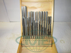 "29pc/set Chucking Reamers, Fractional 1/16 thru 1/2"", HSS"