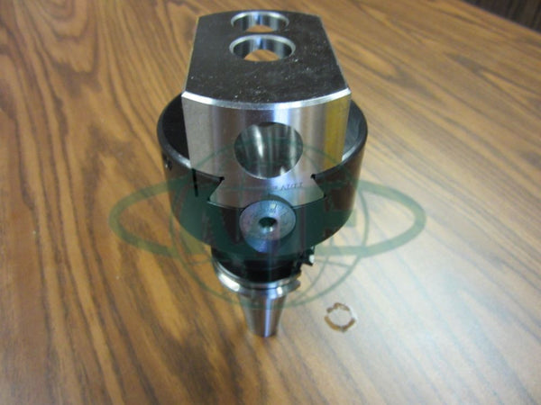 4 Precision Adjustable Boring Head with CAT40 Shank w 1 Hole #820-new