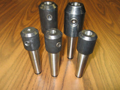 MT3 END MILL HOLDERS, Morse Taper 3 End Mill Holders--5 pcs of select sizes