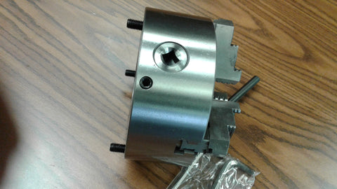 "6""/167mm 3-JAW Adjustable Structure Precision SELF-CENTERING LATHE CHUCK #0603AJ, K31-167A"
