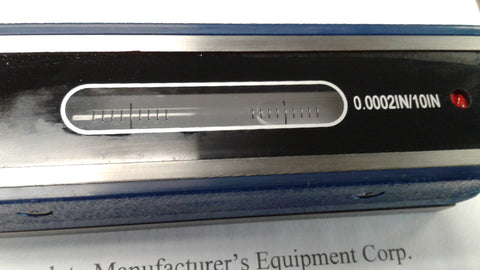 "6"" Precision Master Level, Bar Lvel, 0.0002""/10"" Accuracy #001-ML06-02---new"