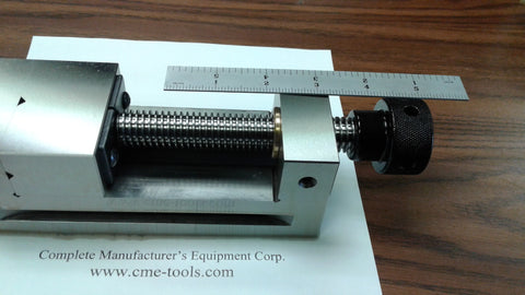"2-1/2""x7"" Screw type Tool Maker's Precision vise w. Screw VISE #705-212 - NEW"