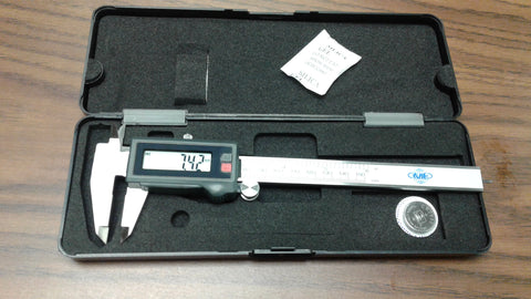 "6"" /150mm IP67 WATER-PROOF ELECTRONIC DIGITAL CALIPER--X-LARGE SCREEN #201-IP67"
