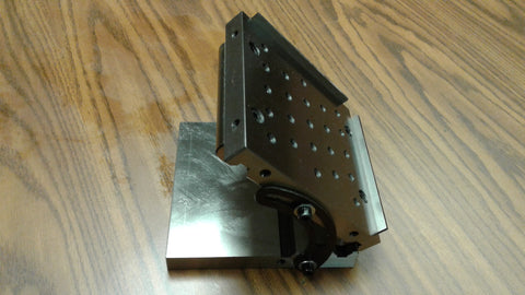 "6""X6""X2"" PRECISION SINE PLATES 1/4""-20 tapped holes 5"" roll distance #SINE-P-662"