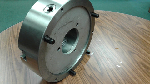 "12"" 3-JAW SELF-CENTERING LATHE CHUCK front mounting for rotary tables #1203F0-FM"