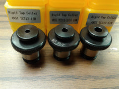 3 ANSI Rigid Tap Collets,positive drive P-type tap adapters, select your 3 sizes