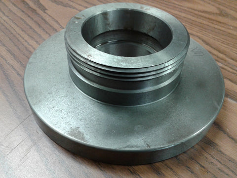 "8"" L0 Semi-finished adapter Plate for LATHE CHUCKS #ADP-08-L0SM-NEW"
