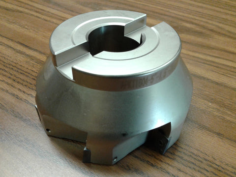 "5"" 90 degree indexable face shell mill,face milling cutter APKT #Z-2526-4035"