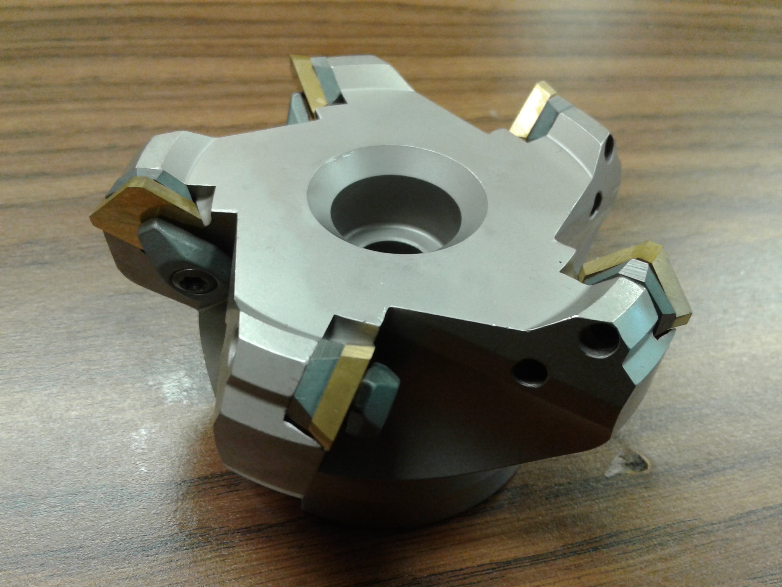 """3/"""" 45 degree indexable face shell mill,face milling cutter w.SEAN42AFTN--new"""